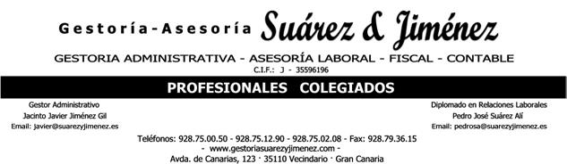 Logo Gestoría Suárez&Jiménez