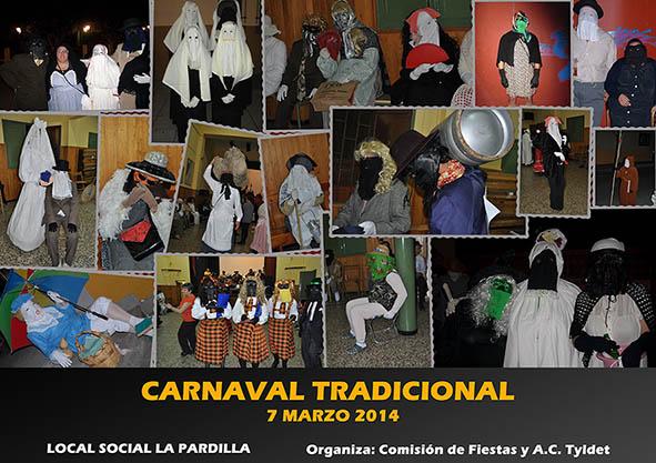 Cartel del Carnaval de La Pardilla 2014