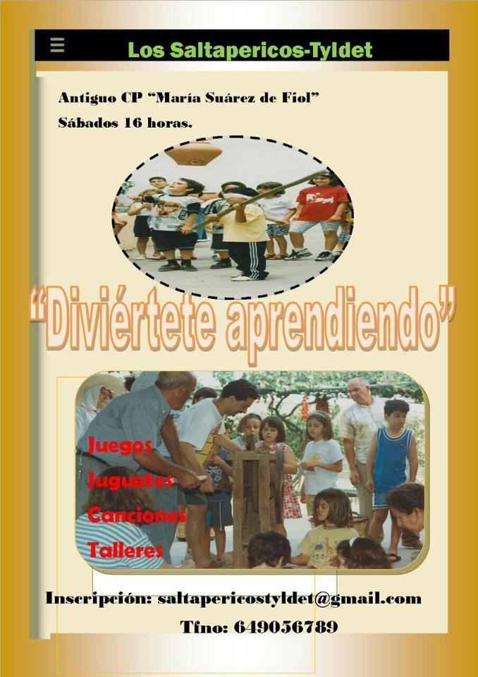 """Cartel VII Taller """"Los Saltapericos"""""""