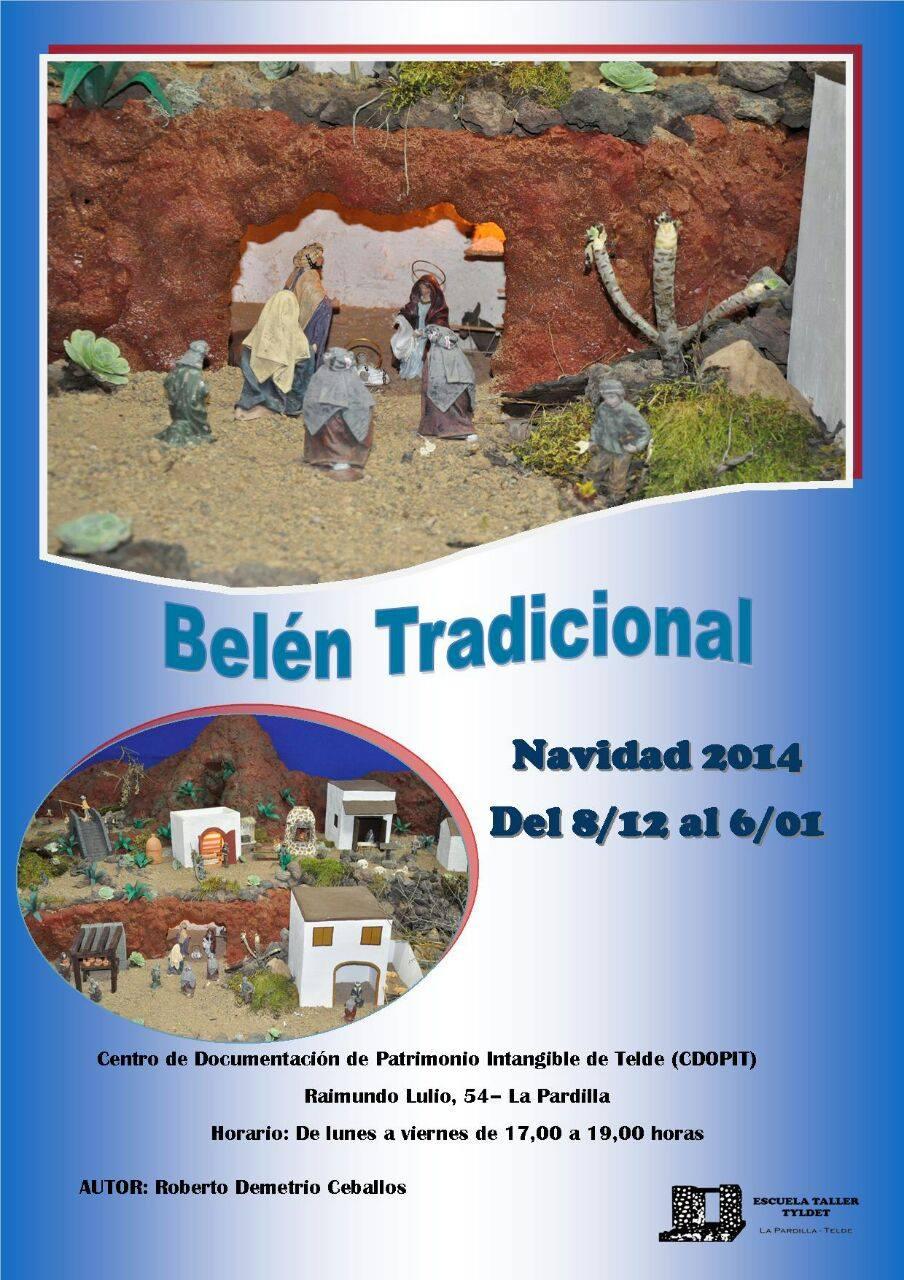 Cartel del Belén Tradicional - 2014