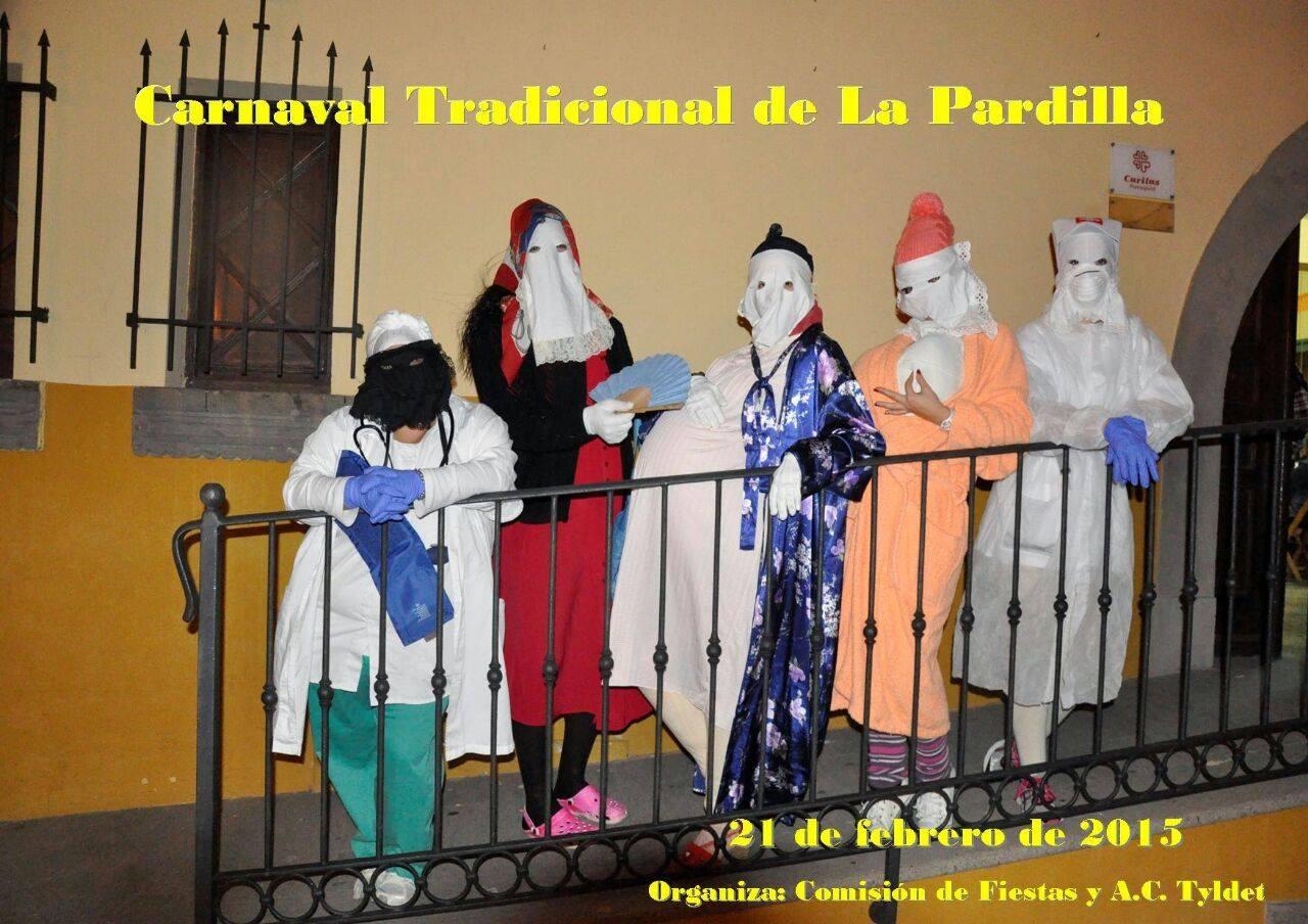 Cartel del Carnaval de La Pardilla 2015