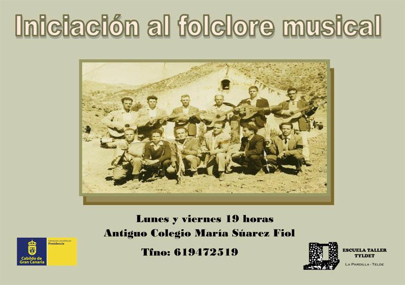 Cartel Iniciación al folclore musical