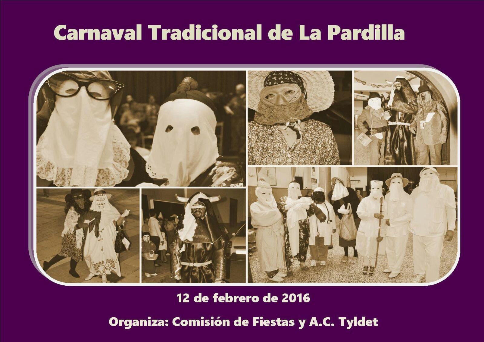 Cartel del Carnaval de La Pardilla, 2016