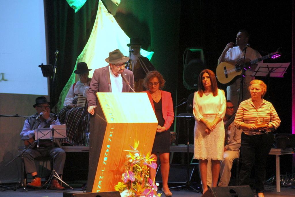 Imagen del acto durante el discurso del presidente de Tyldet. Foto: Jesús Ruiz Mesa