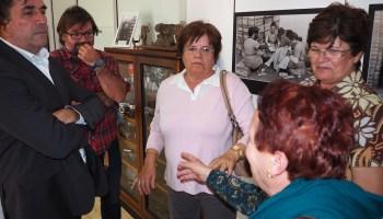 Visita de Clavijo al CDOPIT (La Pardilla, Telde)