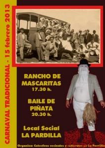 Cartel de carnaval 2013