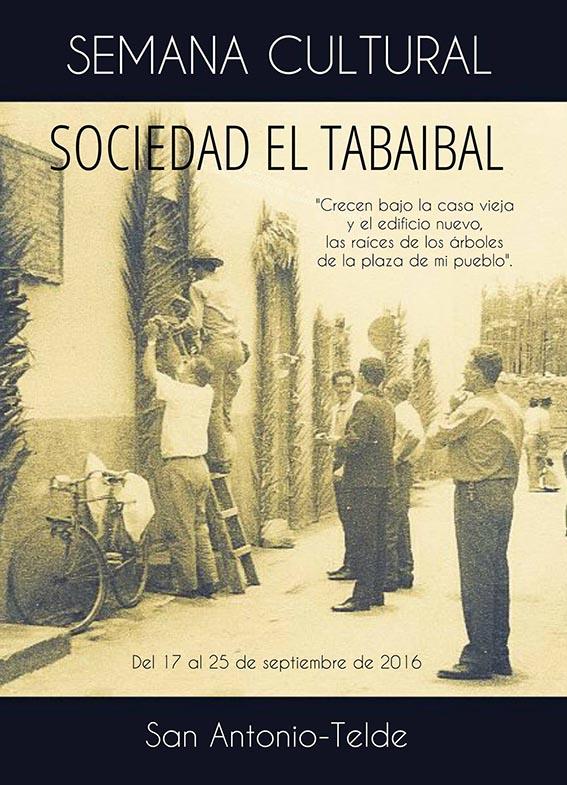 Cartel de la Semana Cultural